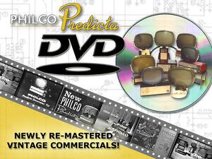 THE ORIGINAL PHILCO PREDICTA TELEVISION ADS ON DVD VERY RARE TV ADS MUST SEE