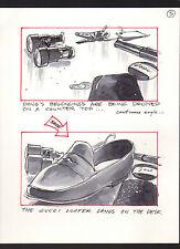 SHE'S OUT OF CONTROL 1989 ORIGINAL STORYBOARD ART ALTERNATES CARL ALDANA #5