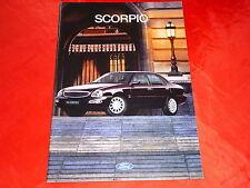 FORD Scorpio Limousine Turnier Ghia + Ghia 24V Prospekt Prospekt von 1995