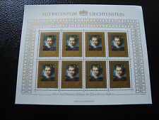 LIECHTENSTEIN - timbre/stamp Yvert et Tellier n° 823 x8 n** (Z2)