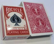 SHRINKING RED BICYCLE PLAYING CARD CASE BOX CLOSE UP GIMMICK MAGIC TRICK PROP