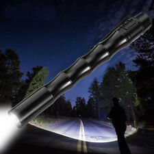 Tactical Mini Pen Pocket XP-E R2 LED 3000LM Flashlight Torch Fine Light Torch