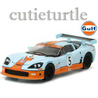 Greenlight Hobby Exclusive 2009 Chevy Corvette C6 R 1:64 Gulf Oil Racing 29885