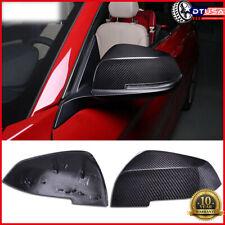 Authentic Carbon Fiber Original Mirror Cover Cap For BMW1 M2 Coupe 3 M3 GT 4 M4