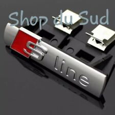 LOGO AUDI S LINE Calandre Emblème Logo SLINE BADGE A1 A3 A4 A5 A6 Q3 Q5 Q7
