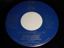 James Brown: God Has Smiled On Me / (part 2) 45 - gospel