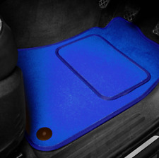 Blue SUPER VELOUR Car Floor Mats Set To Fit Vauxhall Vectra C (2002-2009)