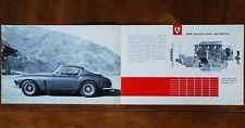 Ferrari 250 GT Berlinetta SWB sales brochure Prospekt, 1960 (Italian text)