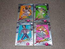1986 Mattel Spectra Lot of 4 Dolls MIB Brand New StylaBlue Tom Comet More