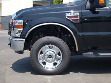 Fits The 1999-2007 Ford F-250/350 Dually Polished Stainless Steel Fender Trim