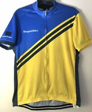 Specialized Cycling Full Zip Vibrant Blue and Yellow XL Jersey Bangtail Bikes XL