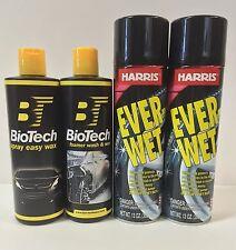 Spray Easy Wax 16 oz + Foamer Wash & Wax 16 oz + Ever Wet Spray Tire Shine (2)
