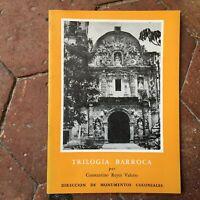 Trilogia Barroca Reyes Valerio N º 12 Departamento De Monumentos Colonial 1960