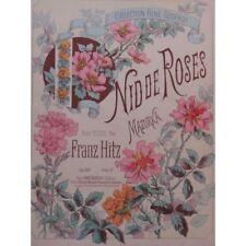 HITZ Franz Nid de Roses Piano partition sheet music score