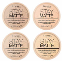 Rimmel Stay Matte Pressed Powder Long Lasting- Choose Your Shade - BRAND NEW