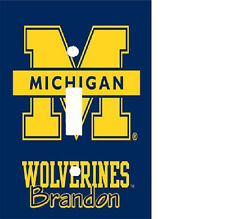 PERSONALIZED MICHIGAN WOLVERINES FOOTBALL LIGHT SWITCH PLATE COVER