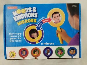 NEW (Open Box) Lakeshore Moods & Emotions Mirrors - Special Needs Speech Therapy