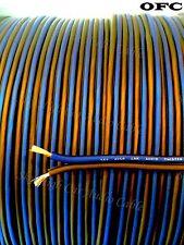 600' feet OFC TRUE 16 Gauge AWG BL/BK Oxygen Free Speaker Wire Car Home Audio