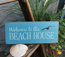 Beach House Decor, Beach Sign, Welcome To The Beach House, Ocean Decor, Beach