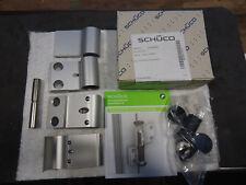 2tlg.Schüco Aufsatztürband / Haustürband Typ 239880 Silber 2 Paar