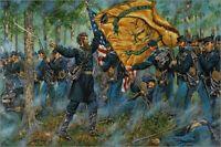 Maritato Signed Civil War Limited Edition Art Print The Ulster Guard 20th NYSM