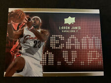 LEBRON JAMES 2008-09 Upper Deck Team MVP SP Insert #MVP-5 Cavs Heat Lakers