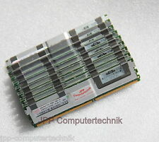 16 GB 4 x 4GB RAM PC2-5300F 667MHz 2Rx4 ECC FB DIMM For HP Servers 466440-B21