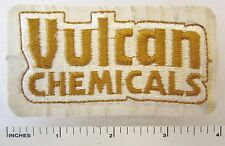 VULCAN CHEMICALS - Vintage Cut Edge BUSINESS COMPANY PATCH