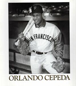San Francisco Giants Orlando Cepeda commemorative Monograph (30 pages, 1987)