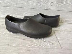 ANA TECH Walk The Walk Pro Body BLack Polyurethane Shoes Clogs Women's 42 11