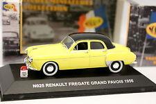 Nostalgie 1/43 - Renault Fregate Grand Pavois Jaune 1956