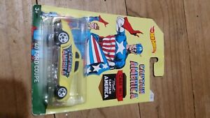 HOT WHEELS Captain America 1/8 2016 1940 Ford Coupe - 1:64 Scale