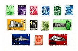 NIGERIA (A3-14) 1961 SG89-101 PICTORIAL FULL SET OF 13 FINE MM / MH