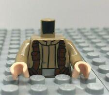 LEGO Minifigure Dark Tan Torso Military Utility Belts Star Wars Trooper Soldier