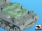Blackdog Models 1/35 TURRET CANVAS COVER FOR STURMGESCHUTZ III C/D Resin Set