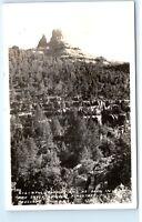 Oak Creek Canyon Flagstaff Prescott Arizona RPPC Vintage Real Photo Postcard C44