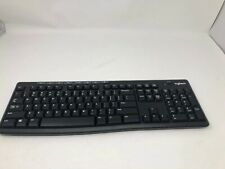 Wireless Keyboard K270 Logitech black Y-R0042 Keyboard Only! No Dongle!