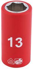 "Genuine DRAPER 3/8"" Sq. Dr. Fully Insulated VDE Socket (13mm) 31660"