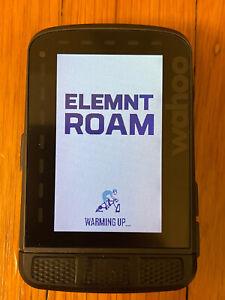 Wahoo Elemnt Roam GPS Bike Computer - WFCC4 Pre-Owned, No Sensors