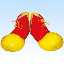 Clownsschuhe Schuhe für Clown rot/gelb Clownschuhe Clownskostüm Clownkostüm