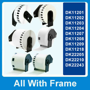 ROLL Label Tape fits Brother QL560 QL570 QL580 QL700 QL720NW QL710W Printers