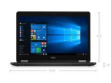 "Dell Latitude E7470 TouchScreen QHD 14"" Laptop - i7-6600u CPU✔8GB RAM✔256GB SSD"