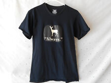 Harry Potter ALWAYS Black T-Shirt Size Small 34-36 Uni-Sex