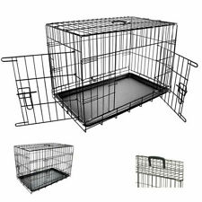 Pet Cage with Plastic Tray Removable Easy Cleaning and Transport size 24 Inches