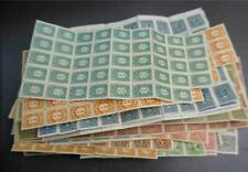 China  - Small Lot of Early Mint Partial Sheets - No Reserve!