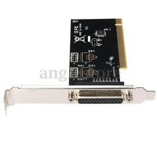PCI I/O Parallel Extended Bus Port DB25 25 Pin IEEE 1284 Printer Card Adapter US