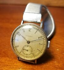 Rare Vintage Longines WWI Military Staniless Steel Trench Wrist Watch