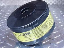 40mm NATO NIOSH Approved CBRN CAP1 Gas Mask Filter Canister - Exp 6/2024 NEW !!!