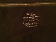 "Large Naken Pacific Silver Cloth Holloware Zippered Bag- Anti Tarnish 24"" X 29"""