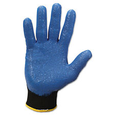 KIMBERLY CLARK G40 Nitrile Coated Gloves Large/Size 9 Blue 12 Pairs 40227